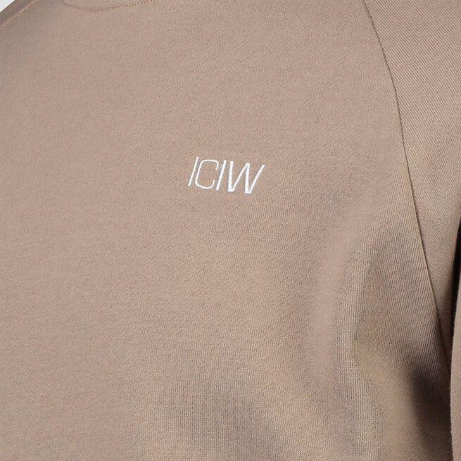 ICANIWILL Essential Crewneck, Sand