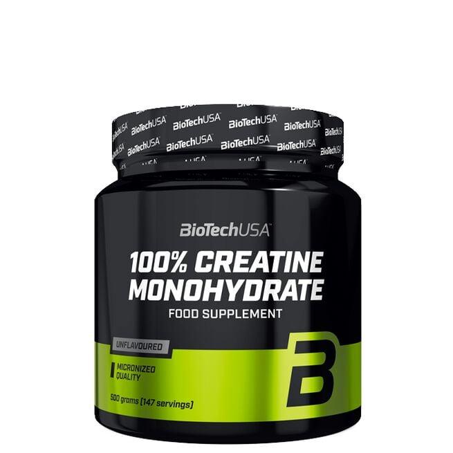 Biotech 100% Creatine Monohydrate, 500 g