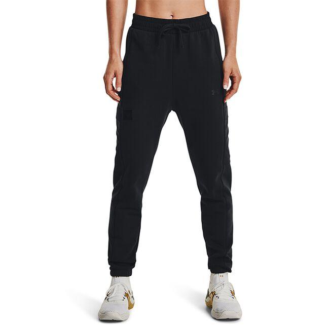 UA Project Rock Fleece Pant, Black