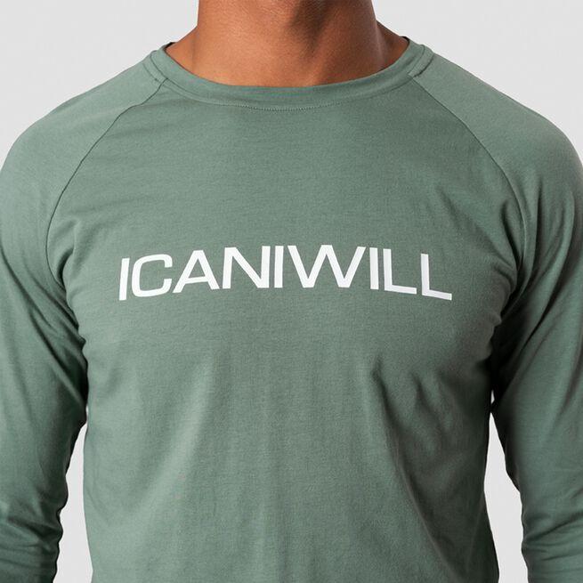 Essential Long Sleeve, Racing Green, L