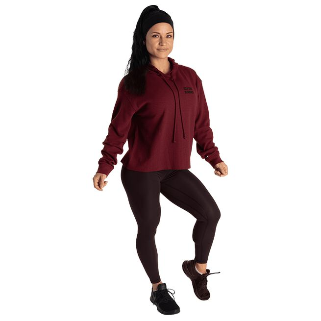 Better Bodies Empowered Thermal Sweater Maroon