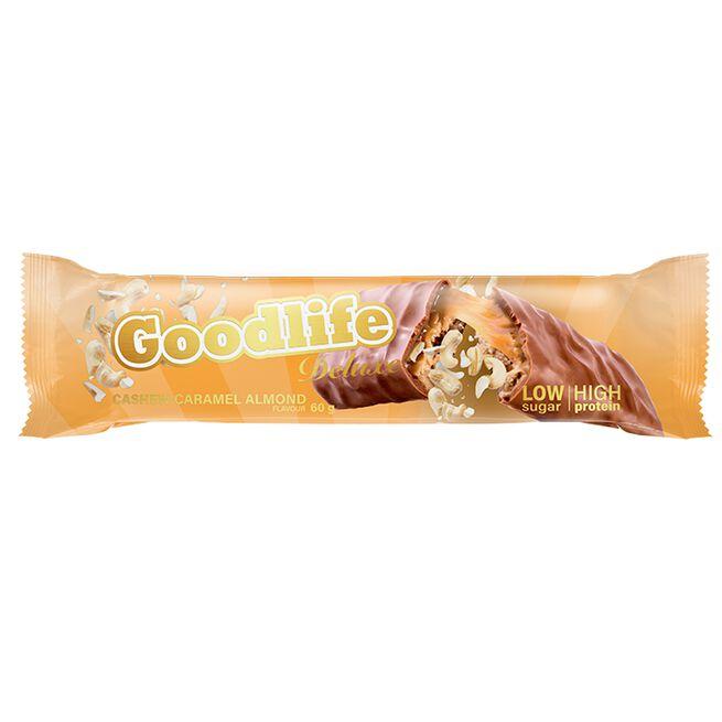 Goodlife Deluxe, Cashew Caramel Almond, 60 g