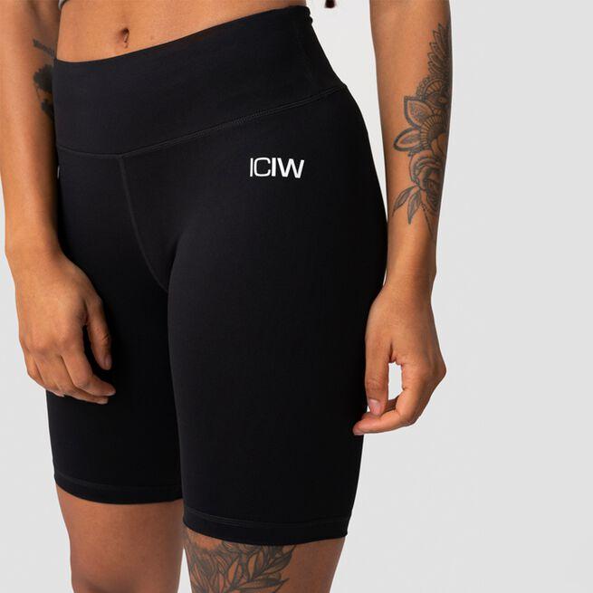 ICANIWILL Classic V-Shape Biker Shorts, Black