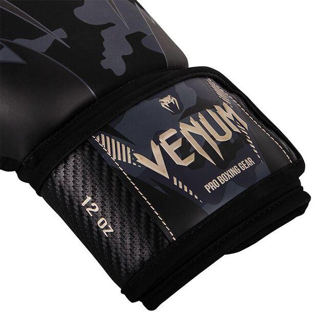 Venum Impact Boxing Gloves, Dark Camo/Sand, 10 oz