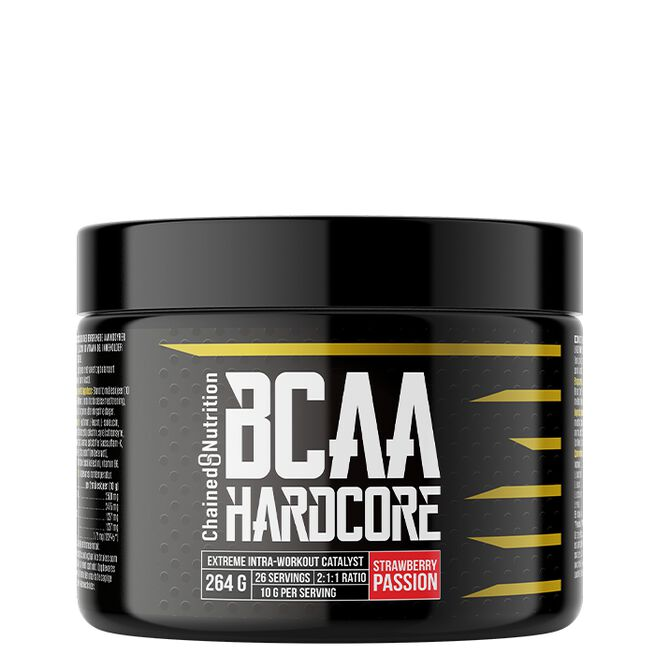Chained nutrition BCAA hardcore Strawberry passion