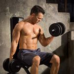 Iron Gym, 15kg Adjustable Dumbbell Set