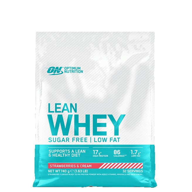 Lean Whey, 32 servings, Strawberry