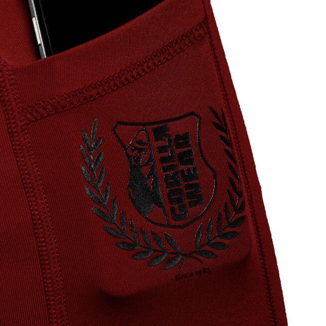 Smart Shorts, Burgundy, S