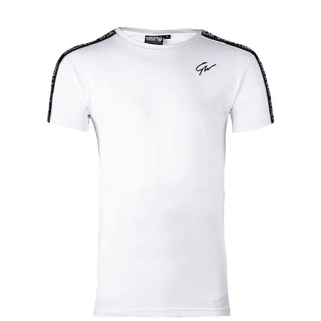 Chester T-Shirt, White/Black, XXL