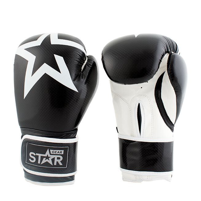Star Gear Boxing Glove, Black, 14 oz