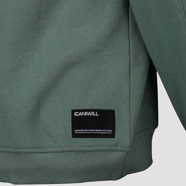 ICANIWILL Essential Crewneck Dark Sage