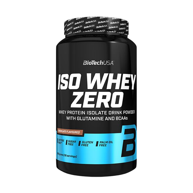 Iso Whey Zero Lactose Free, 908 g, Chocolate