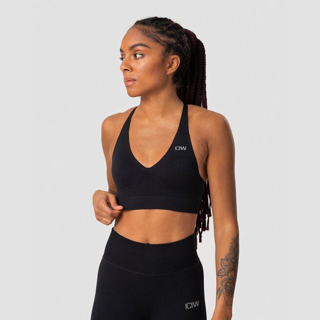 ICANIWILL Define Adjustable Sports Bra Black