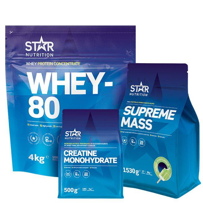 Star nutrition Före och efter träning