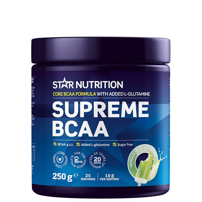 Star nutrition Supreme BCAA pear vanilla ice cream