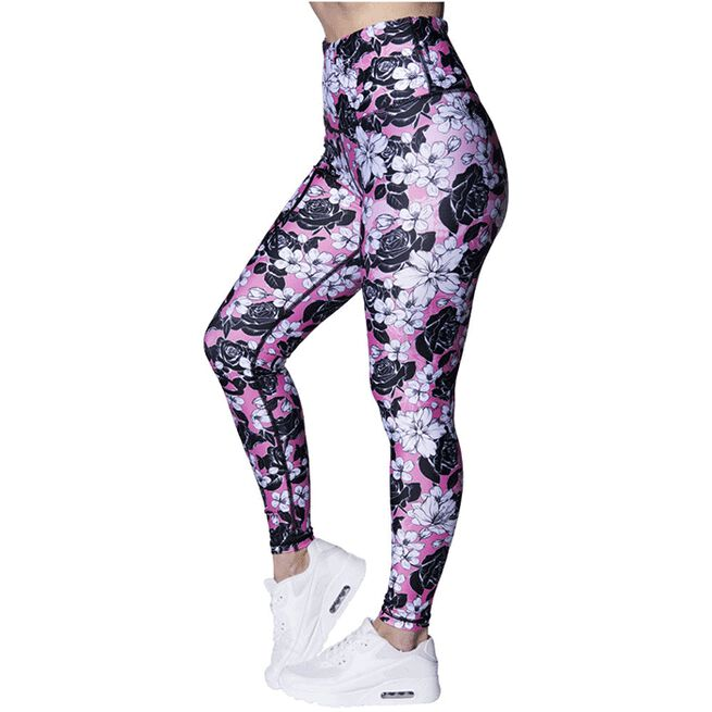 Liliani Leggings, Pink/Black, L