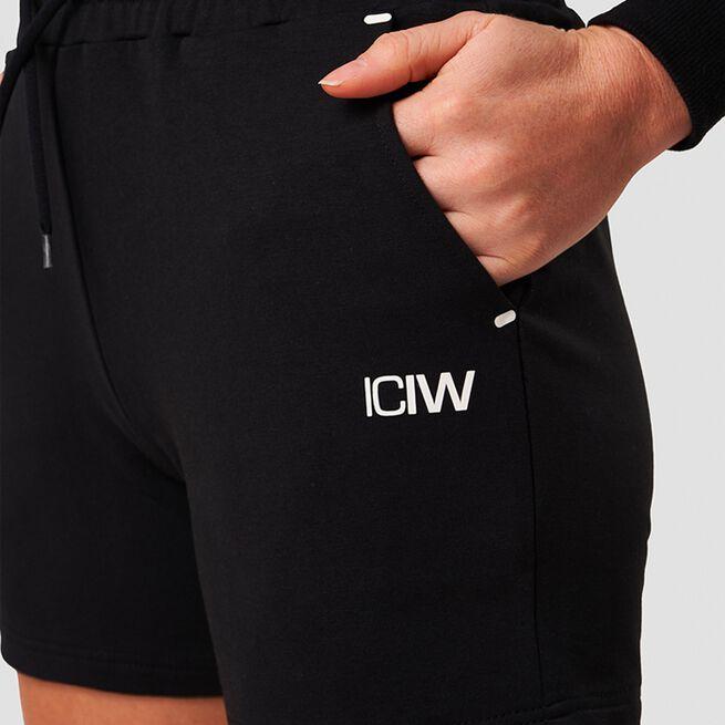 ICANIWILL Sweatshorts Black