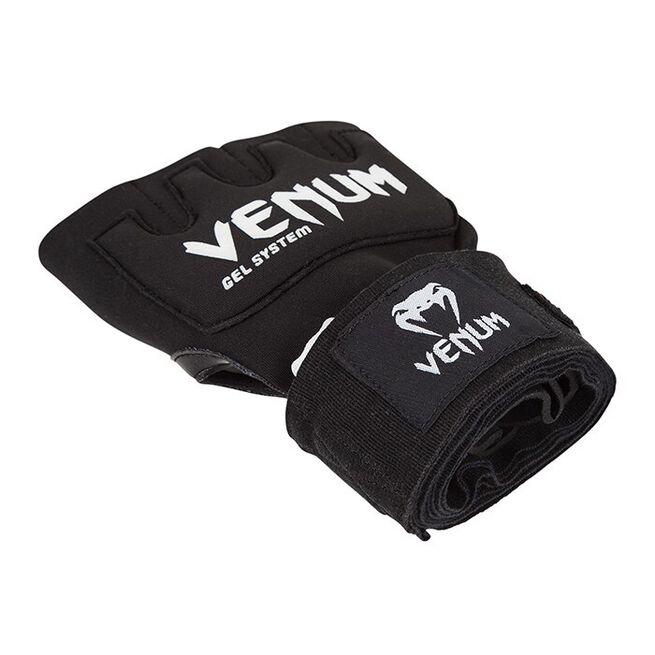 Venum Kontact Gel Glove Wraps, Black