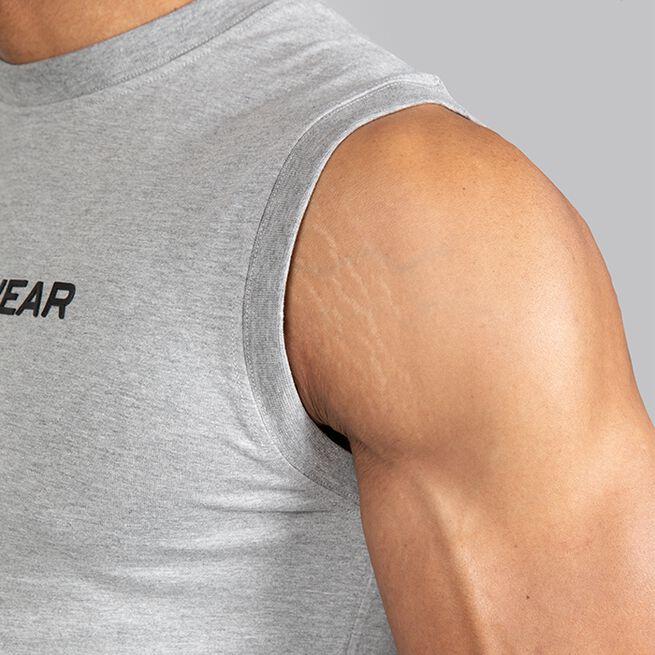 Gorilla Wear Sorrento Sleeveless T-Shirt grey