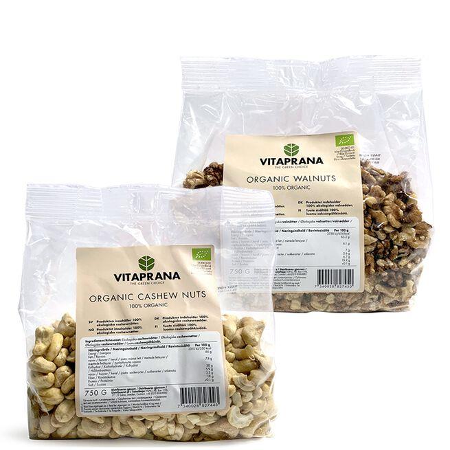Økologisk nød pakke