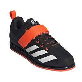 Adidas Powerlifter 4, Black/White/Coral