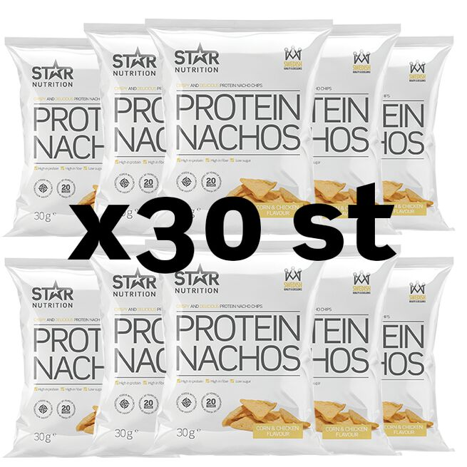 30 x Protein Nachos, 30g