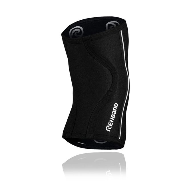 Rehband RX Knee Sleeve Power Max, 7mm, Black