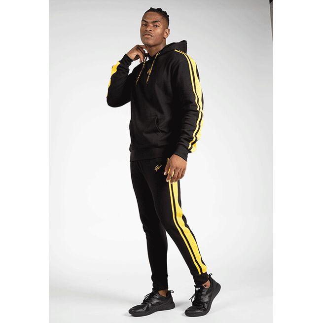 Banks Pants, Black/Yellow, M
