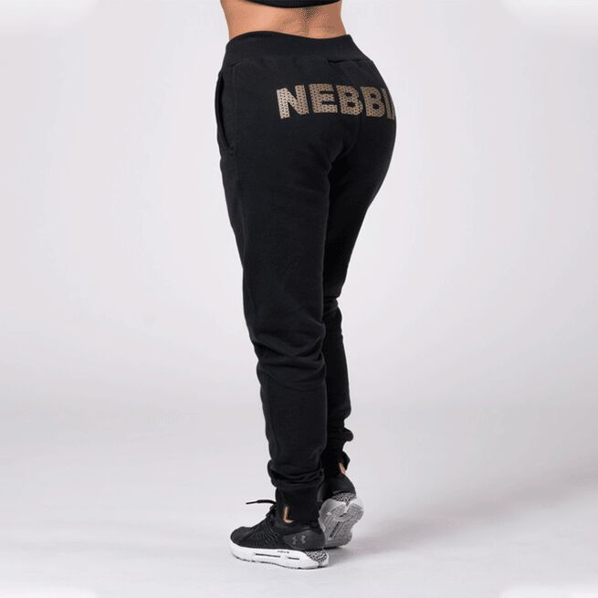Nebbia Gold Classic Sweatpants, Black