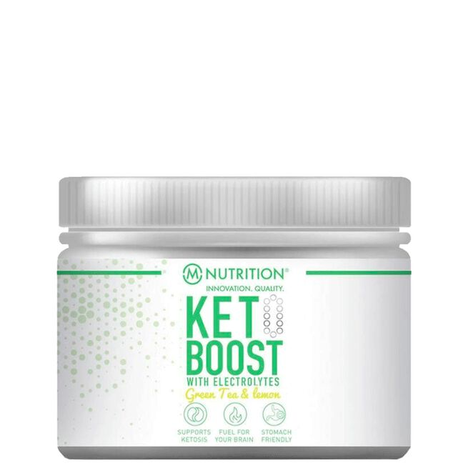 Keto Boost Electrolytes, 170 g, Green Tea & Lemon