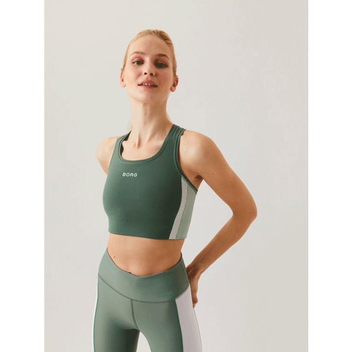 Seasonal Solid Shelby Medium Top, Duck Green