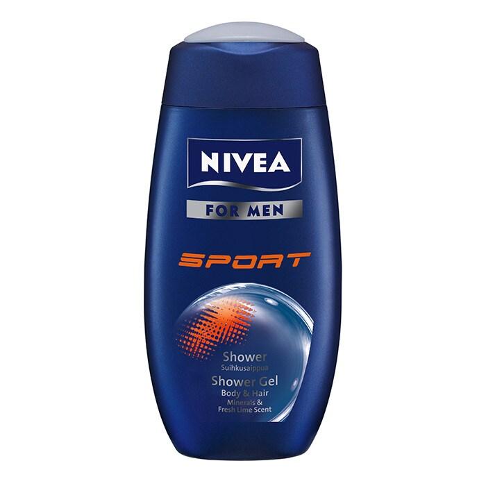 Nivea Shower Sport For Men, 250ml