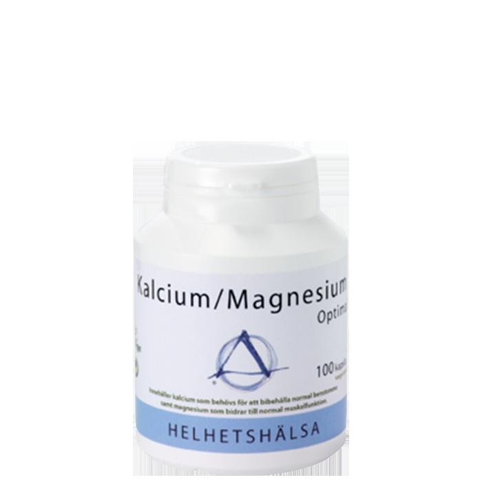 Kalcium/Magnesium Optimal, 100 kapsler