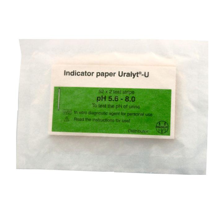 pH indikatorpapir 5,6-8,0, 100 strimler