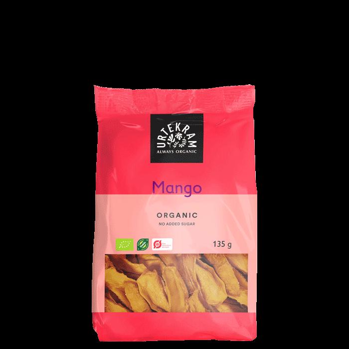 Soltørret Mango, 135 gram