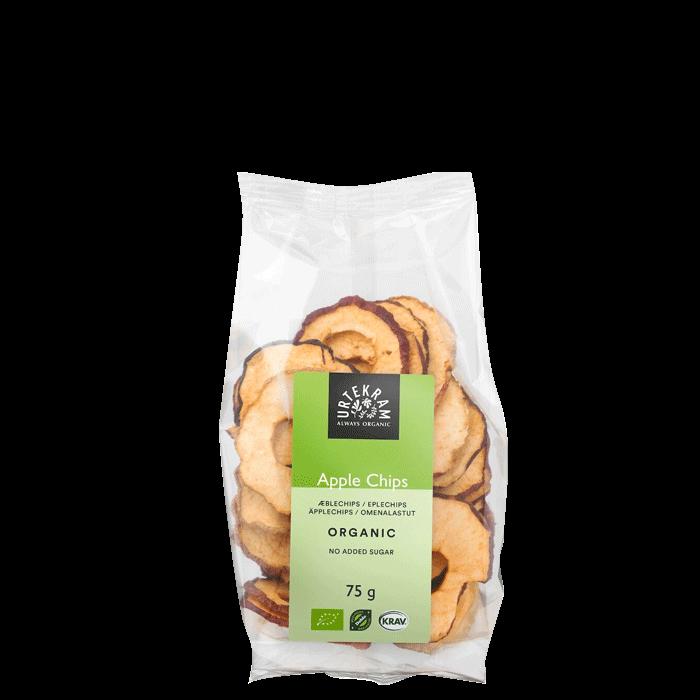 Æble chips, 75 g