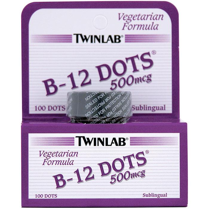 B12 Dots, 500 mcg, 100 stk