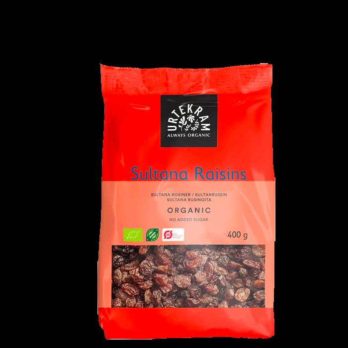 Sultanrosiner, 400 gram